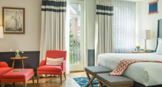 Portland Harbor Hotel King Suite