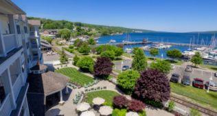 Watkins Glen Harbor Hotel lakeside view