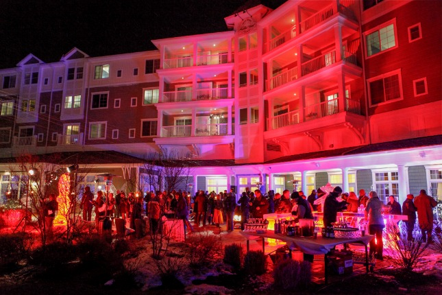 ice bar events Harbor Hotels